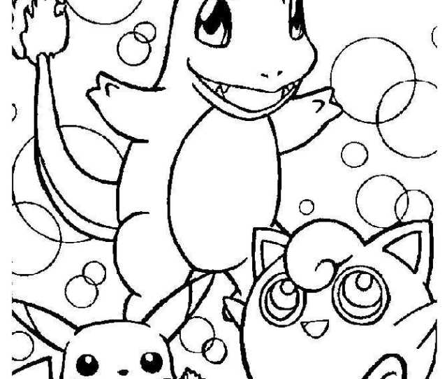 Pokemon Coloring Pages Printable Coloring Pages For Kids