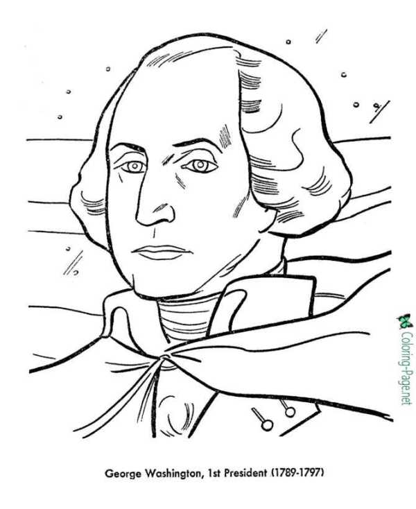 presidents coloring pages # 1
