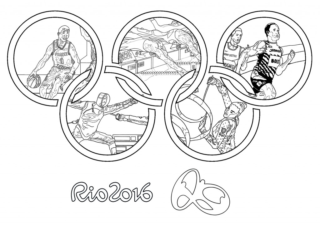 Olympics Mascot Coloring Pages | Free | Olympic Flags | Torches | 724x1024