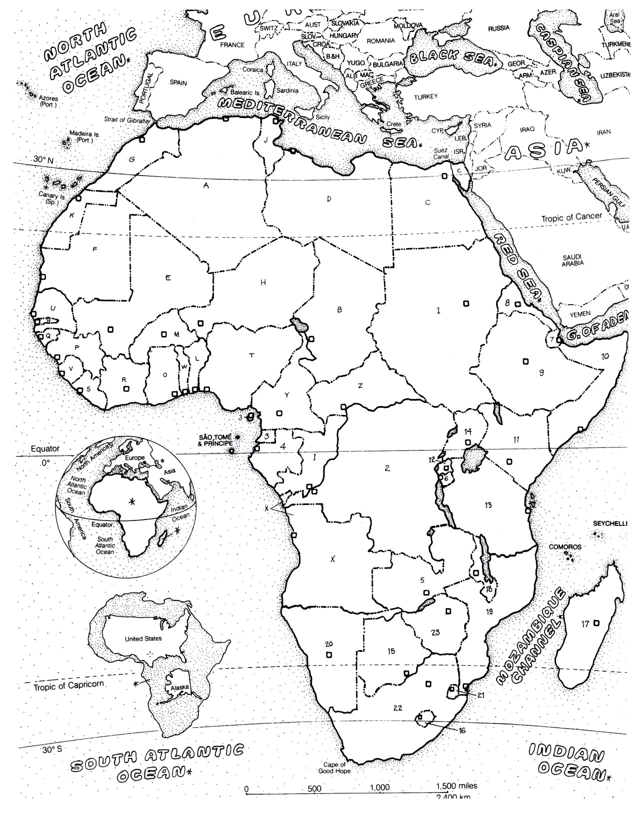 africa coloring pages for adults coloring adult africa map