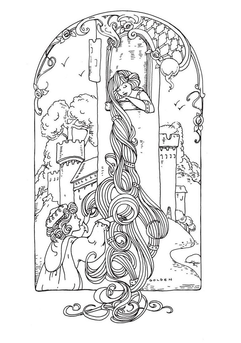 fairy tale coloring pages to print high quality coloring pages