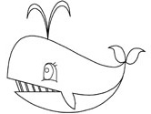 whales coloring pages