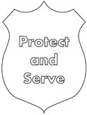 police officer hat coloring pages police coloring pages