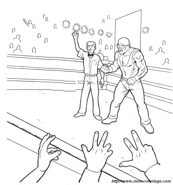 page triple coloring pages pictures imagixs wwe coloring pages jeff