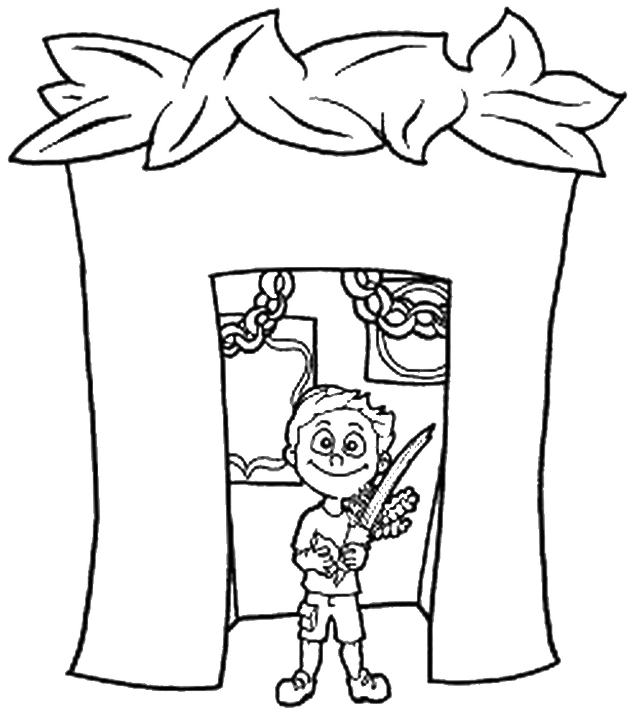 Booth Coloring Pages