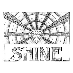 diamond coloring pages # 52
