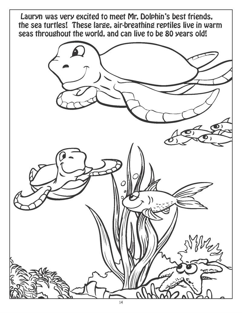 Coloring Books Personalized Underwater Exploration