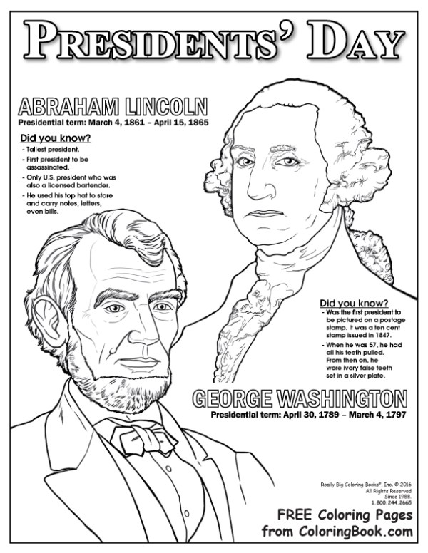 presidents coloring pages # 3