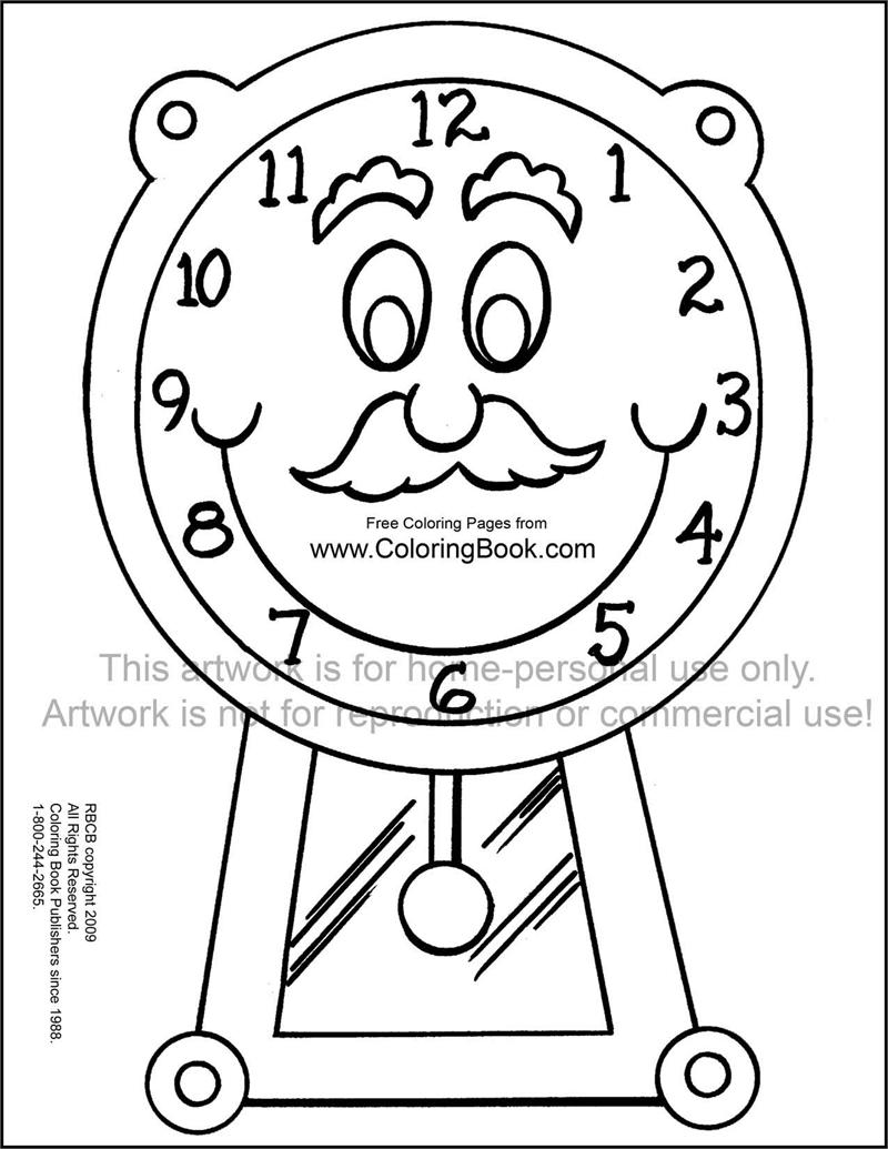 printable clock art project duÅ an Ä ech