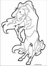 horseland coloring pages coloringbook org