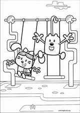 wow wow wubbzy coloring pages # 6