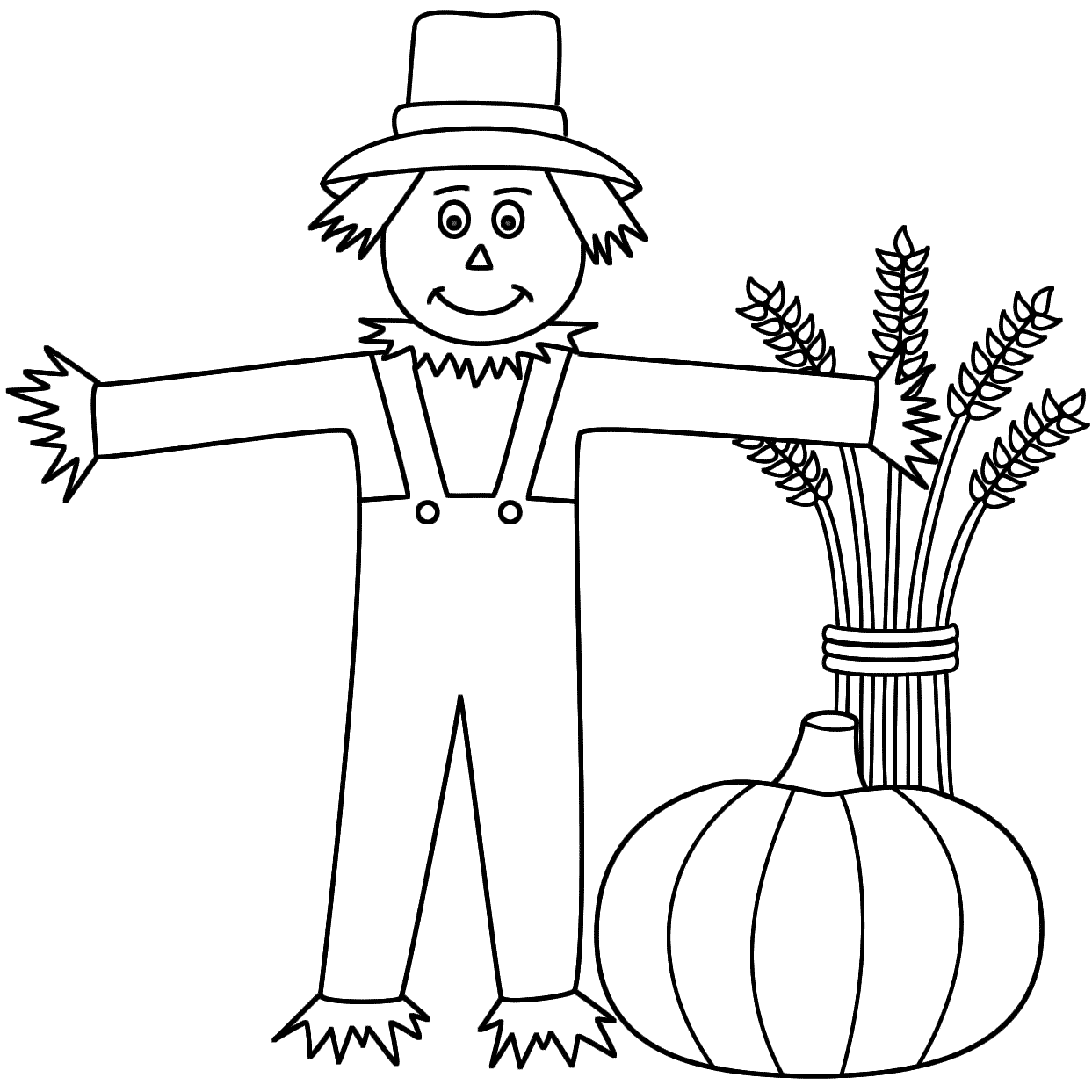 Desenho De Espantalho