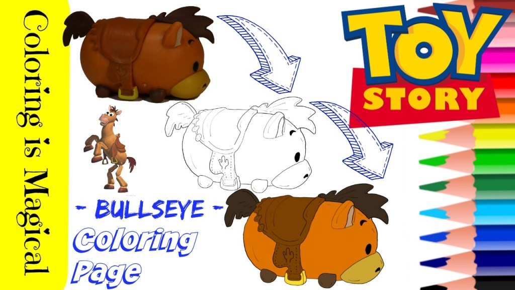 Bullseye – toy story free coloring pages | Coloring Pages | 576x1024
