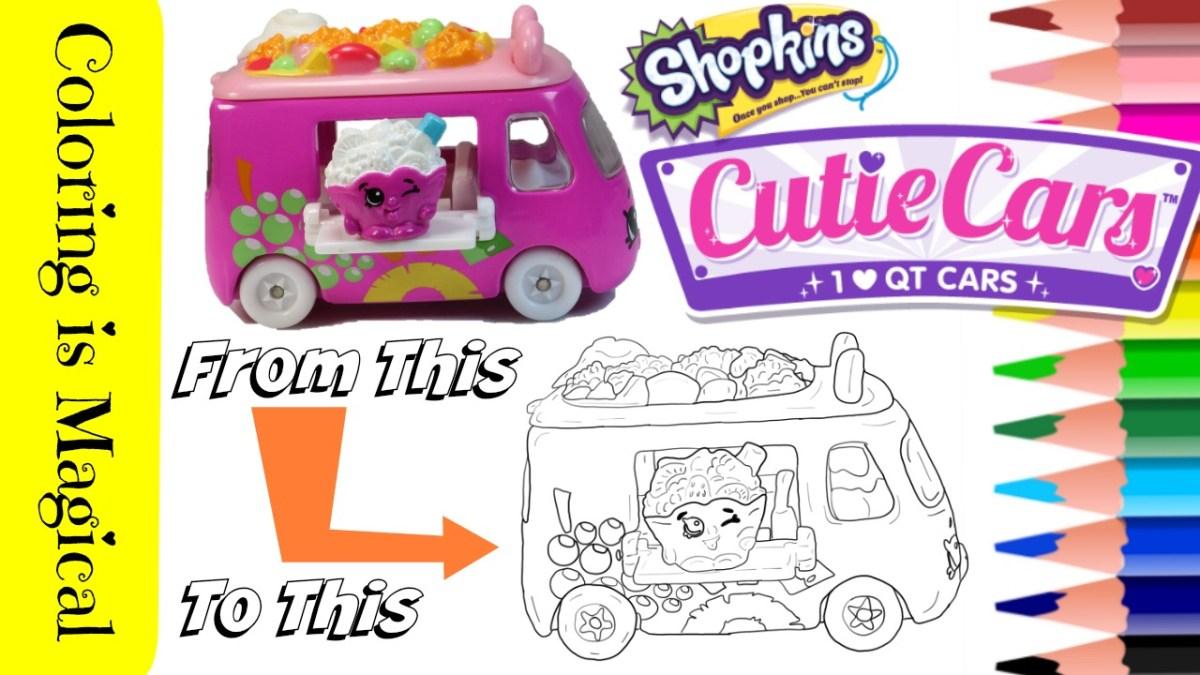 Shopkins fruity zoomer cutie car qt2 32 coloring page shopkins video color cutie cars