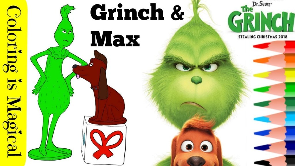 Collection The Grinch And Max Coloring Pages Pictures