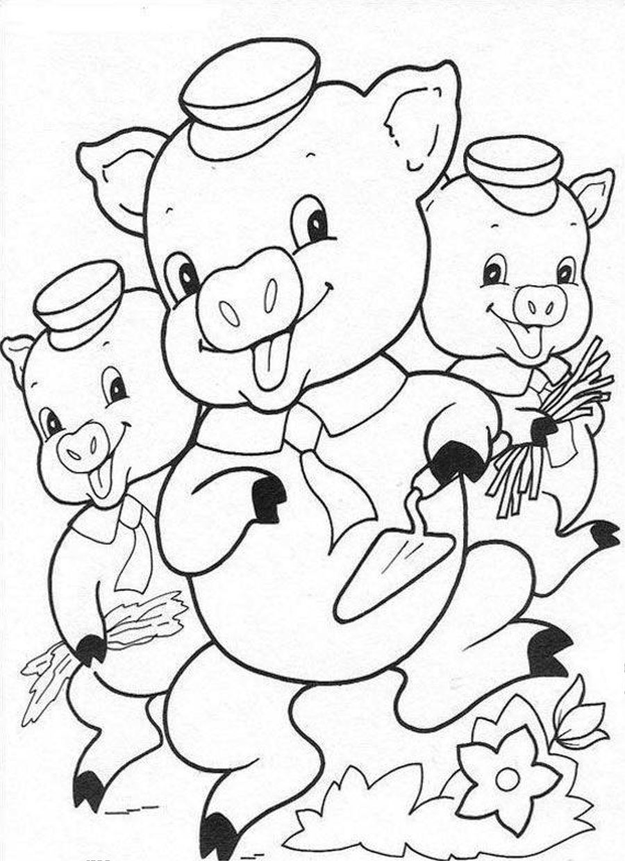 Perfect Coloring Pages Pigs Radkenz Artworks Gallery Angry Birds With Olivia The Pig