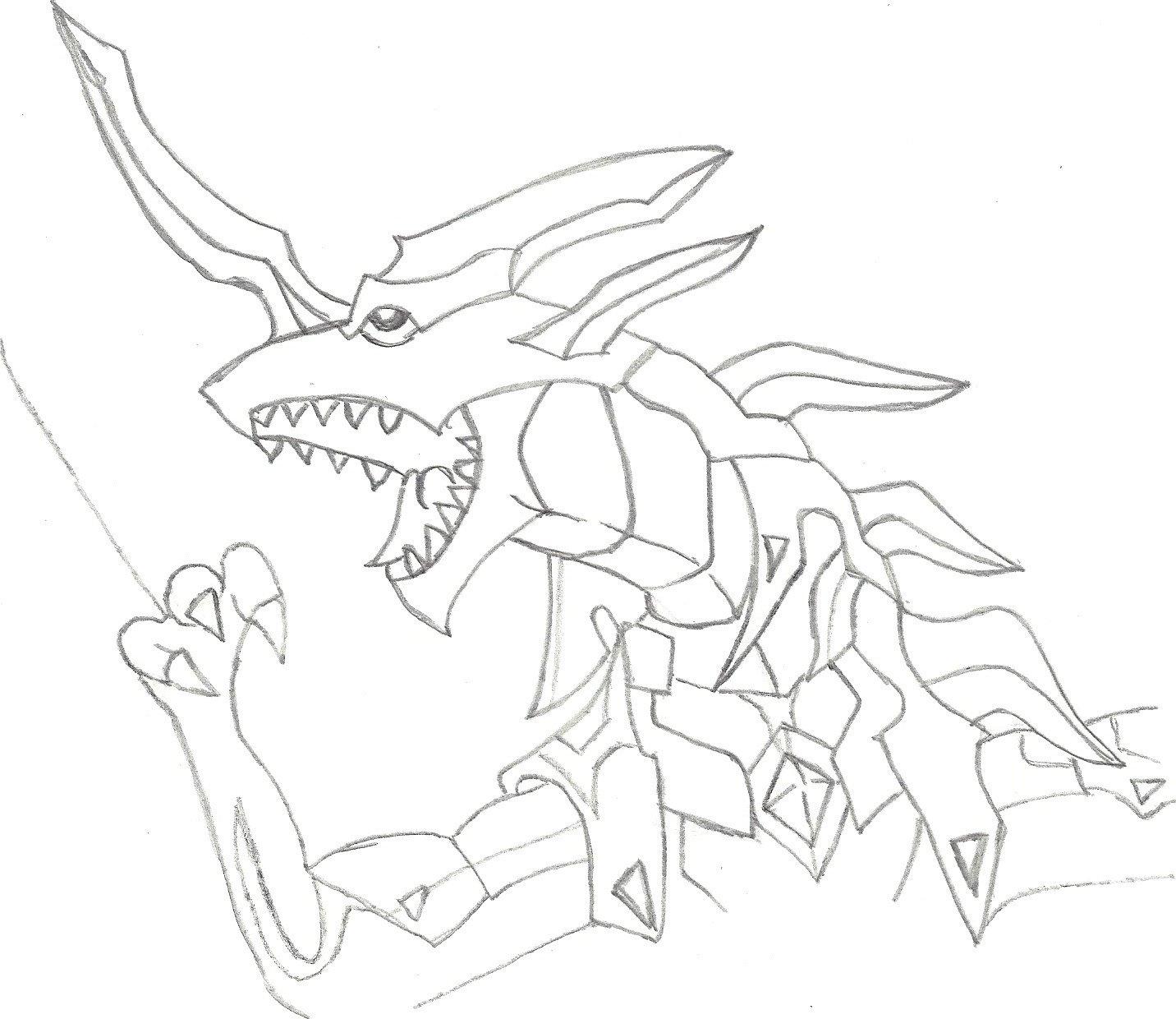Bakugan Drago Coloring Pages