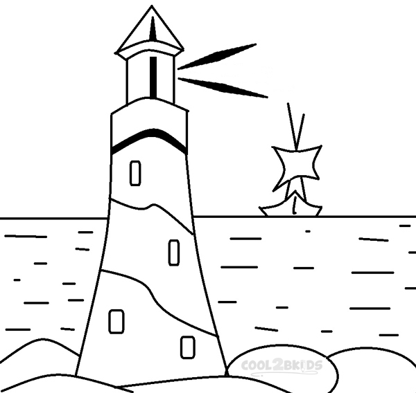 coloring pages print lighthouse coloring pages lighthouse coloring