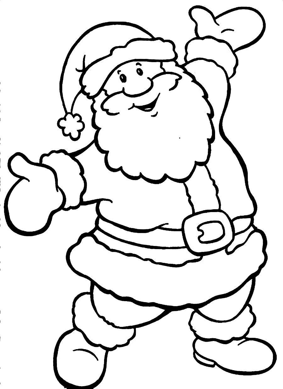santa claus face coloring pages printable santa claus coloring pages