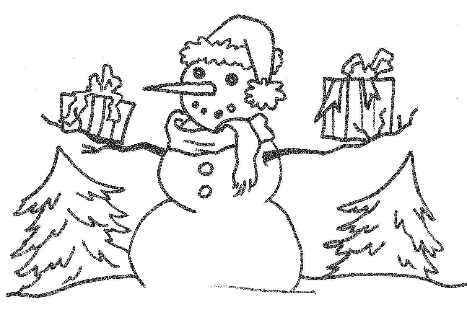 snowman coloring page snowman coloring pages for kids snowman coloring