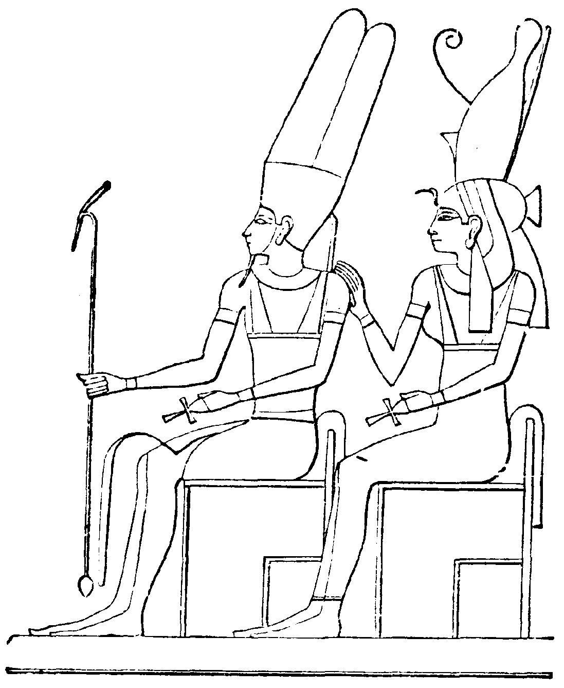 Egyptian Queen Coloring Sheet Printables Coloring Pages