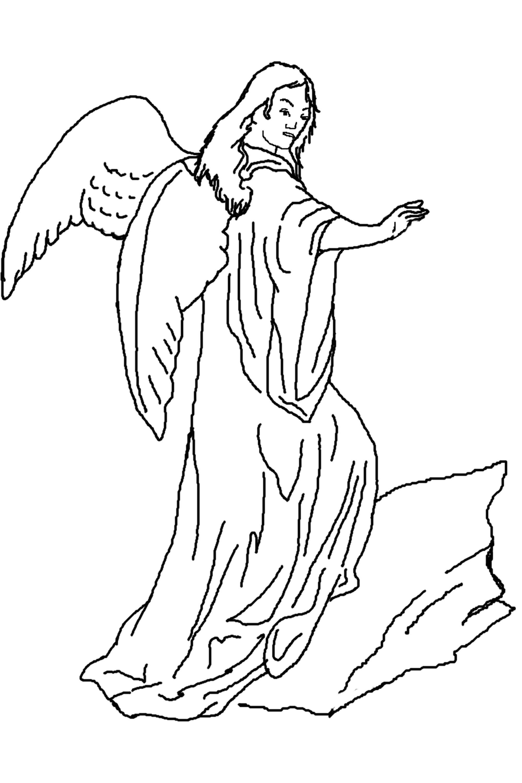 Printable Cupid Angel