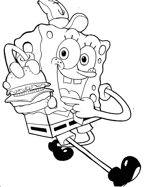 pics photos spongebob coloring pages spongebob coloring sheets