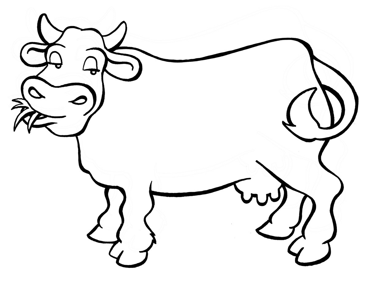 printable cow coloring pages printable cow coloring pages to print