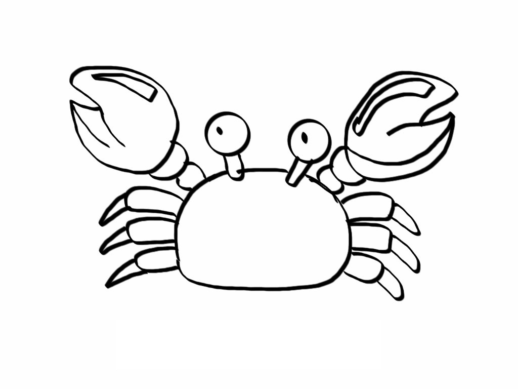 printable crab coloring pages coloring me