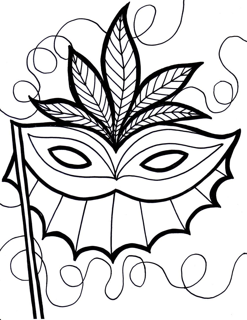 printable mask me
