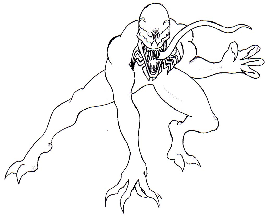 coloring pages spiderman venom coloring pages venom coloring anti