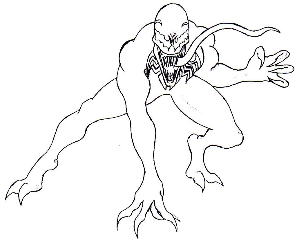 free printable venom coloring pages printable venom coloring pages