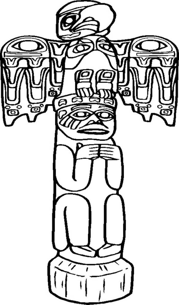 totem pole craft template - Google Search | Totem pole drawing ... | 1190x700