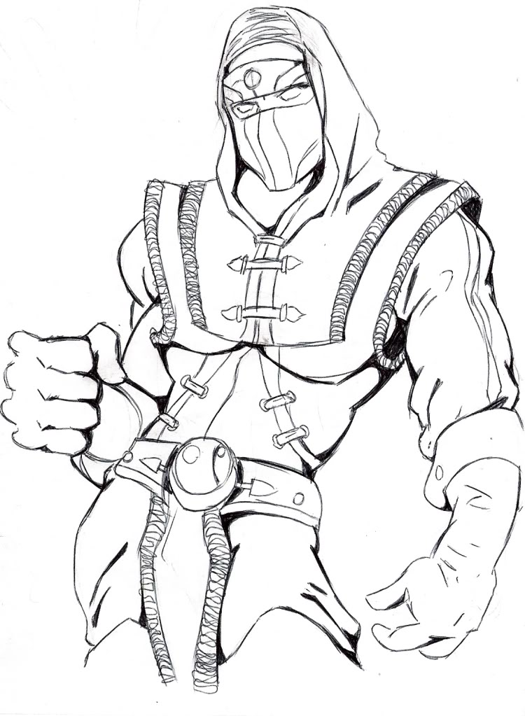 Fatality Mortal Kombat X Coloring Coloring Pages