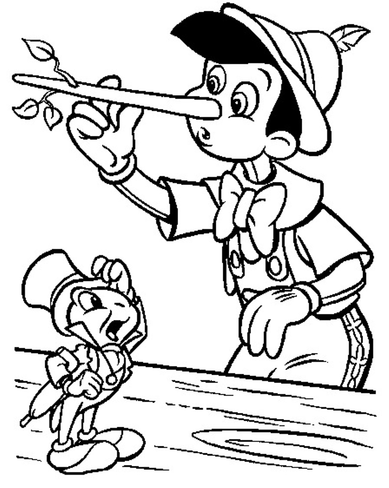 printable pinocchio coloring pages coloring me