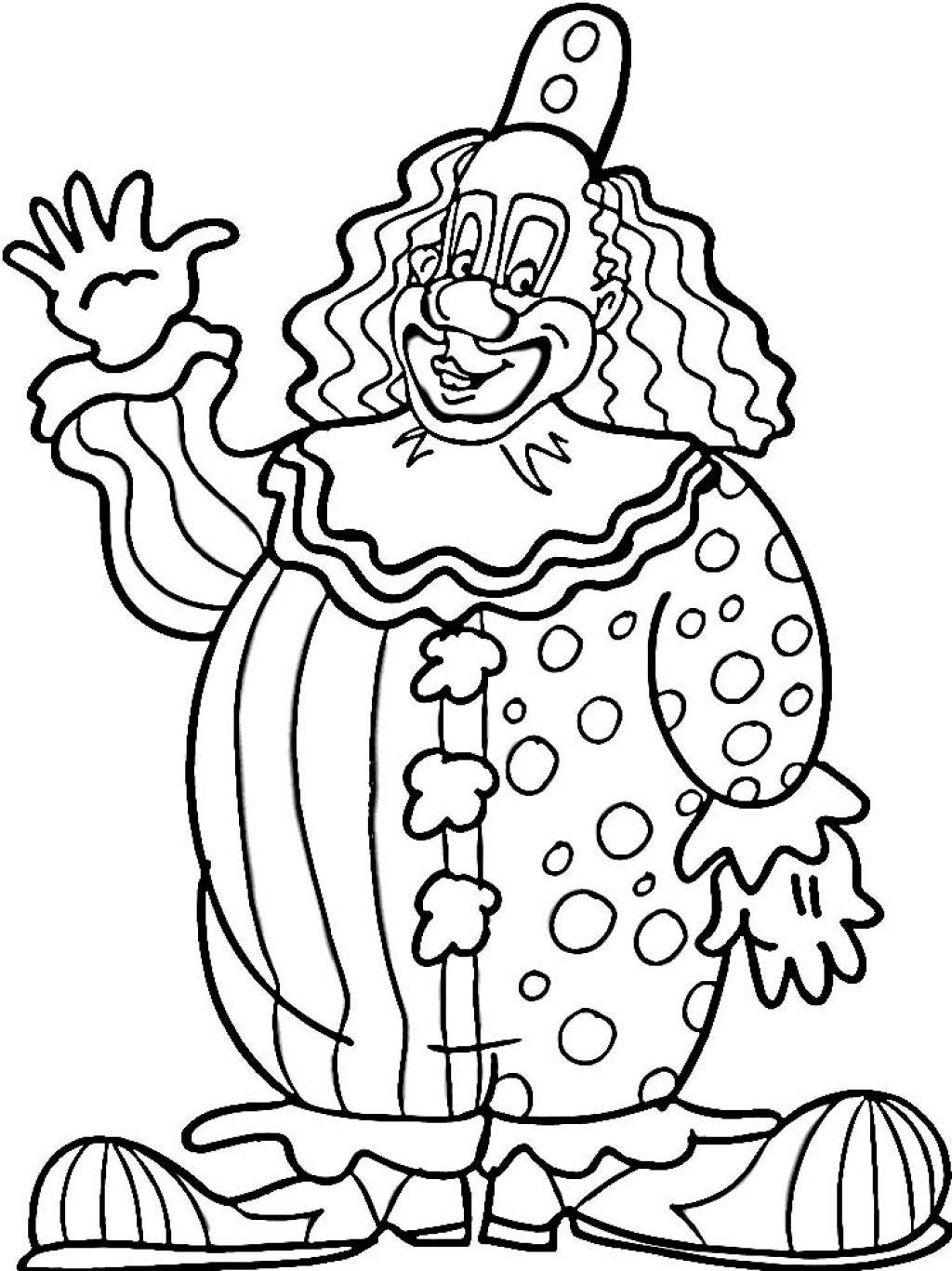 printable clown me