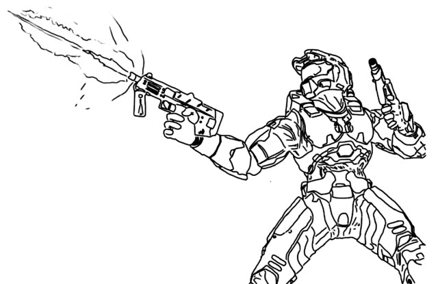 Printable halo 29 coloring pages
