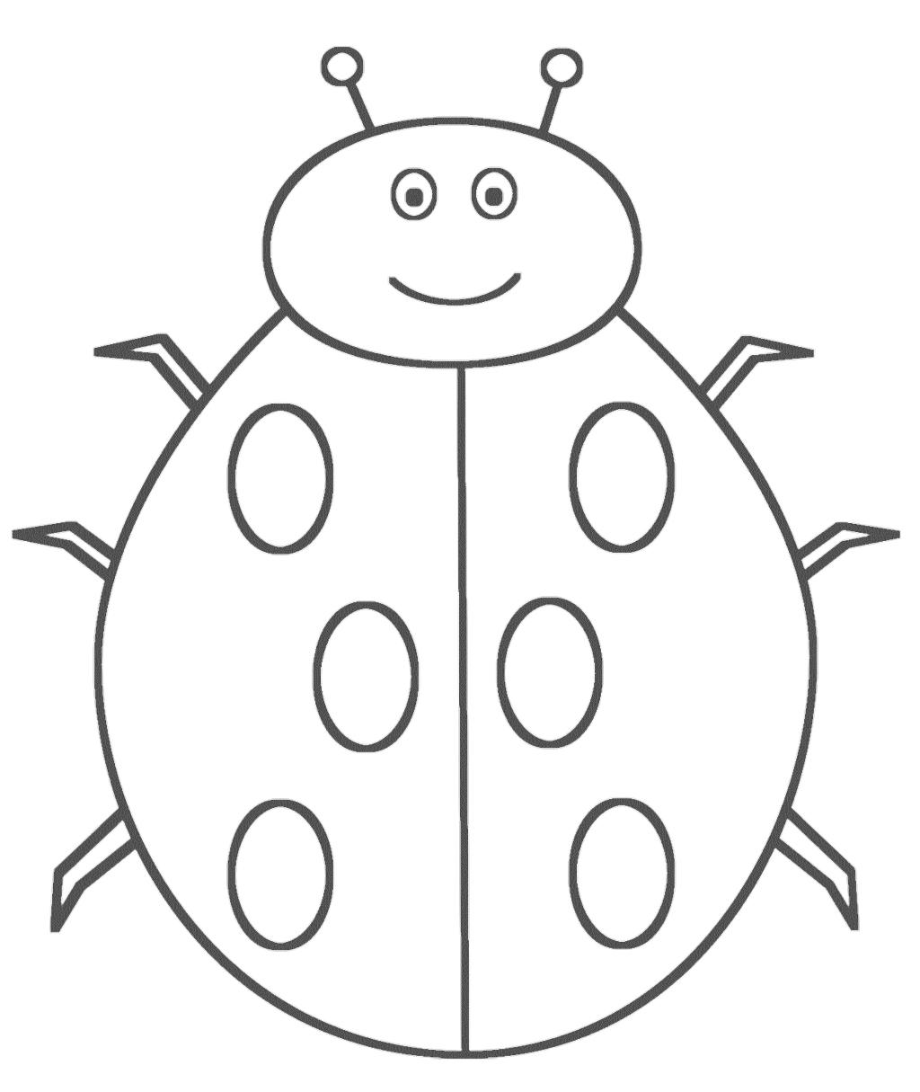 printable ladybug coloring pages ladybug printable coloring page