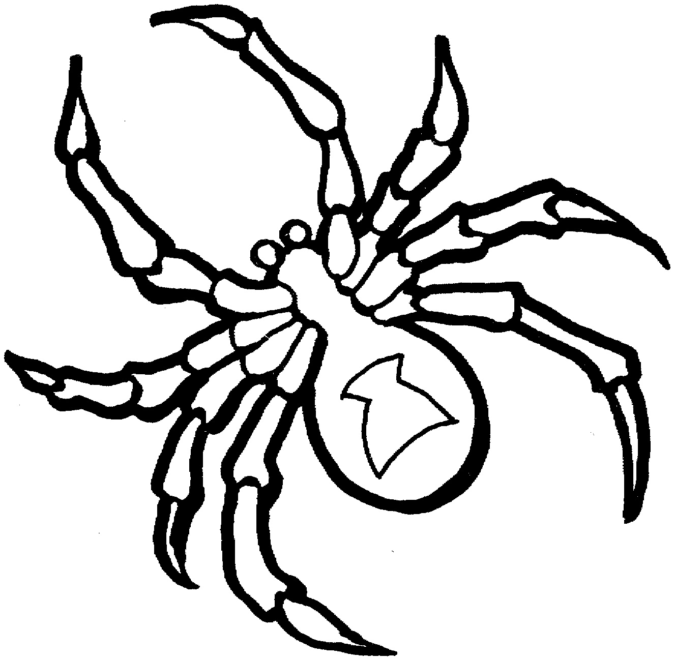 Spider Coloring Book Pages Coloring Pages