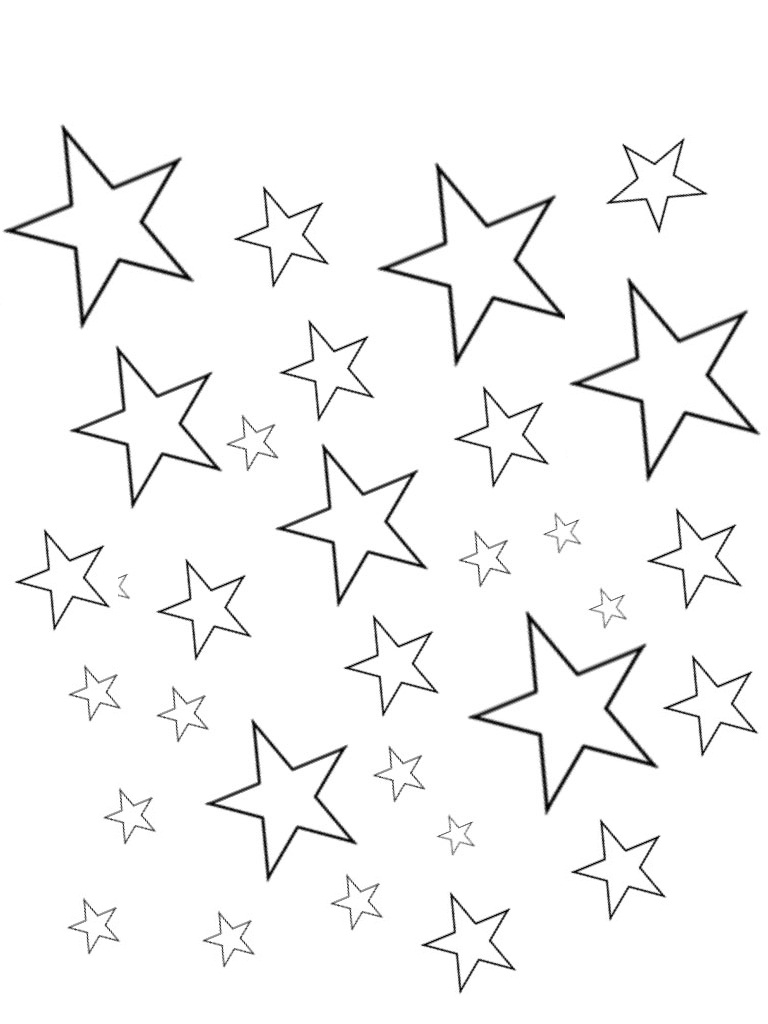 star coloring page printable star coloring page star coloring pages