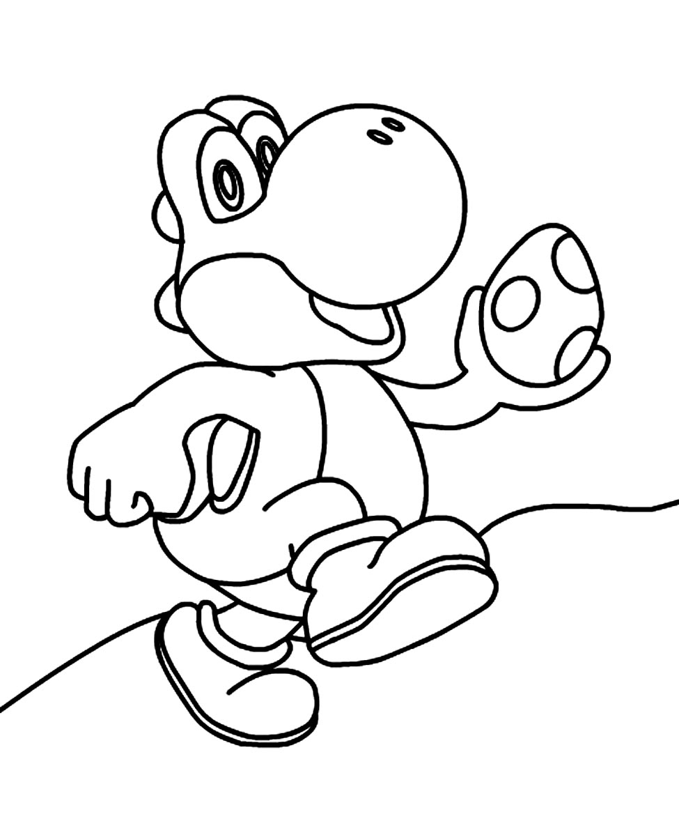 yoshi coloring pages coloring pages to print long hairstyles