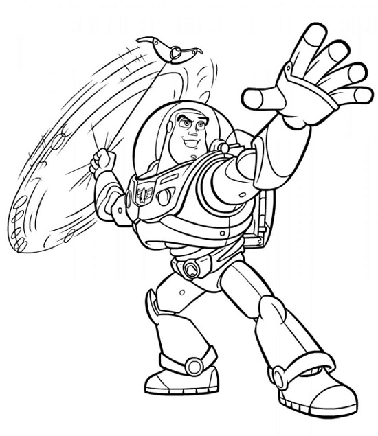 Printable Buzz Lightyear Coloring Pages Coloringme Com