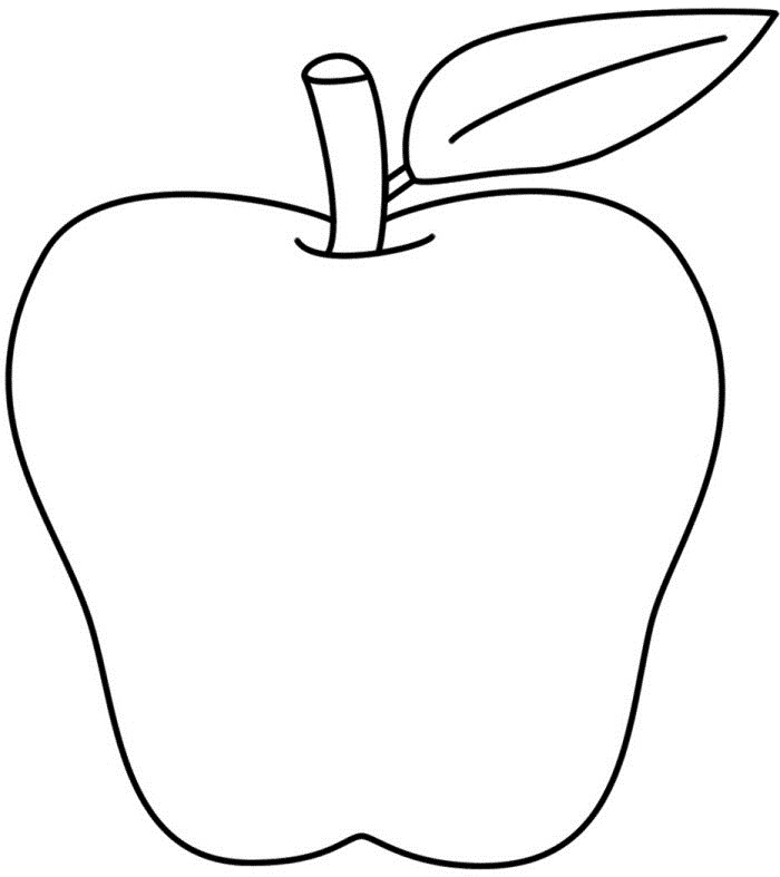 Coloring Pages Of Apples gallery tree free 14 sheet printable