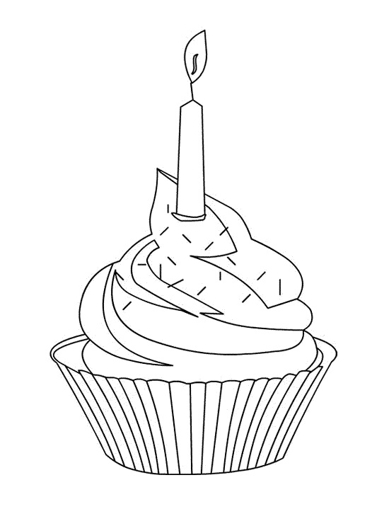 Cupcake Coloring Pages To Print Top Olaf On Cupcake Coloring