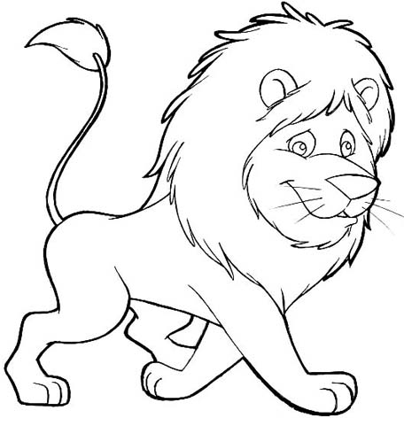 printable lion coloring pages coloring me