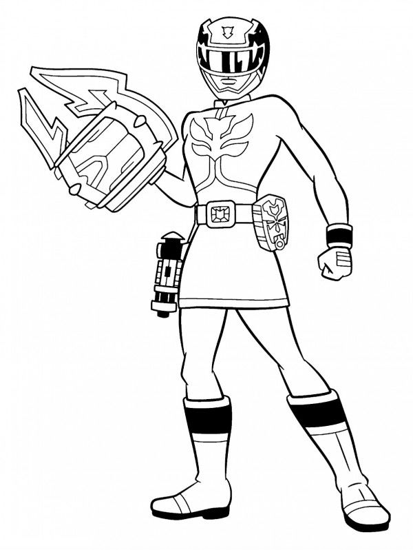 power rangers megaforce coloring pages # 15