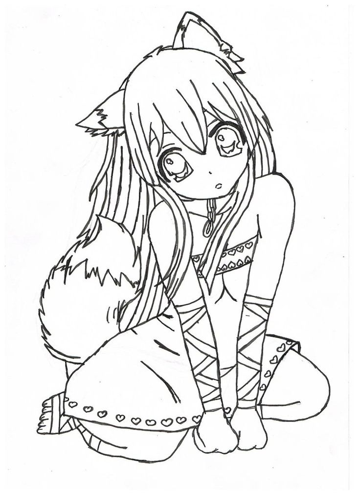 anime coloring pages aductk