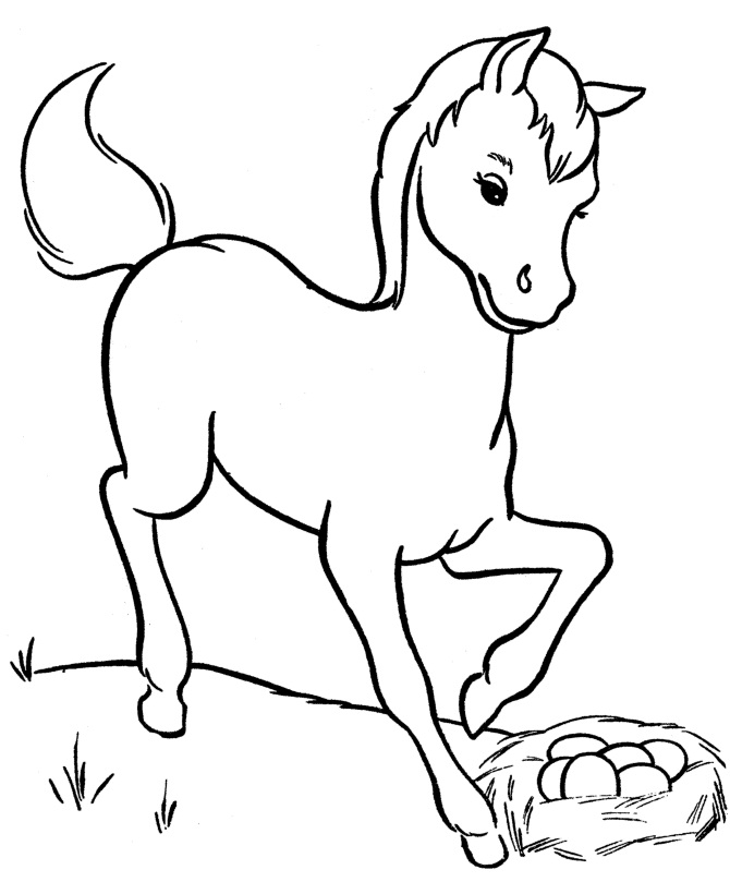 baby horse coloring pages coloring page horse coloring pages horse