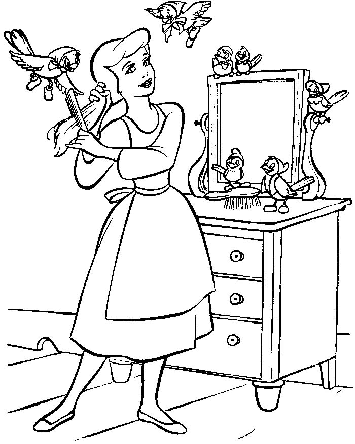 printable cinderella coloring pages coloring me