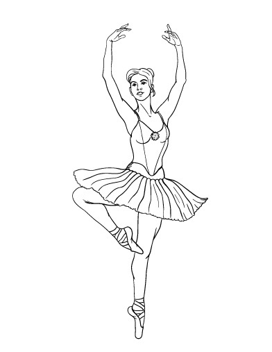 coloring pages ballerina coloring pages of ballerinas free ballerina